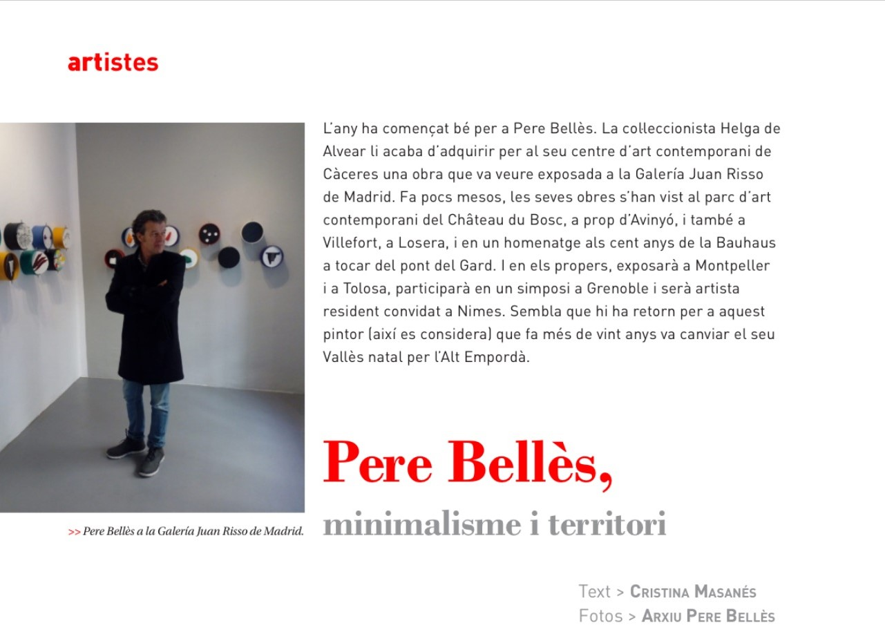Article a Pere Bellès